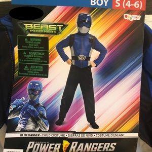 💙🖤 Beast Morphers🖤💙Blue Ranger Child Costume